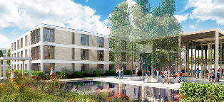 University of York Student Accommodation CGI